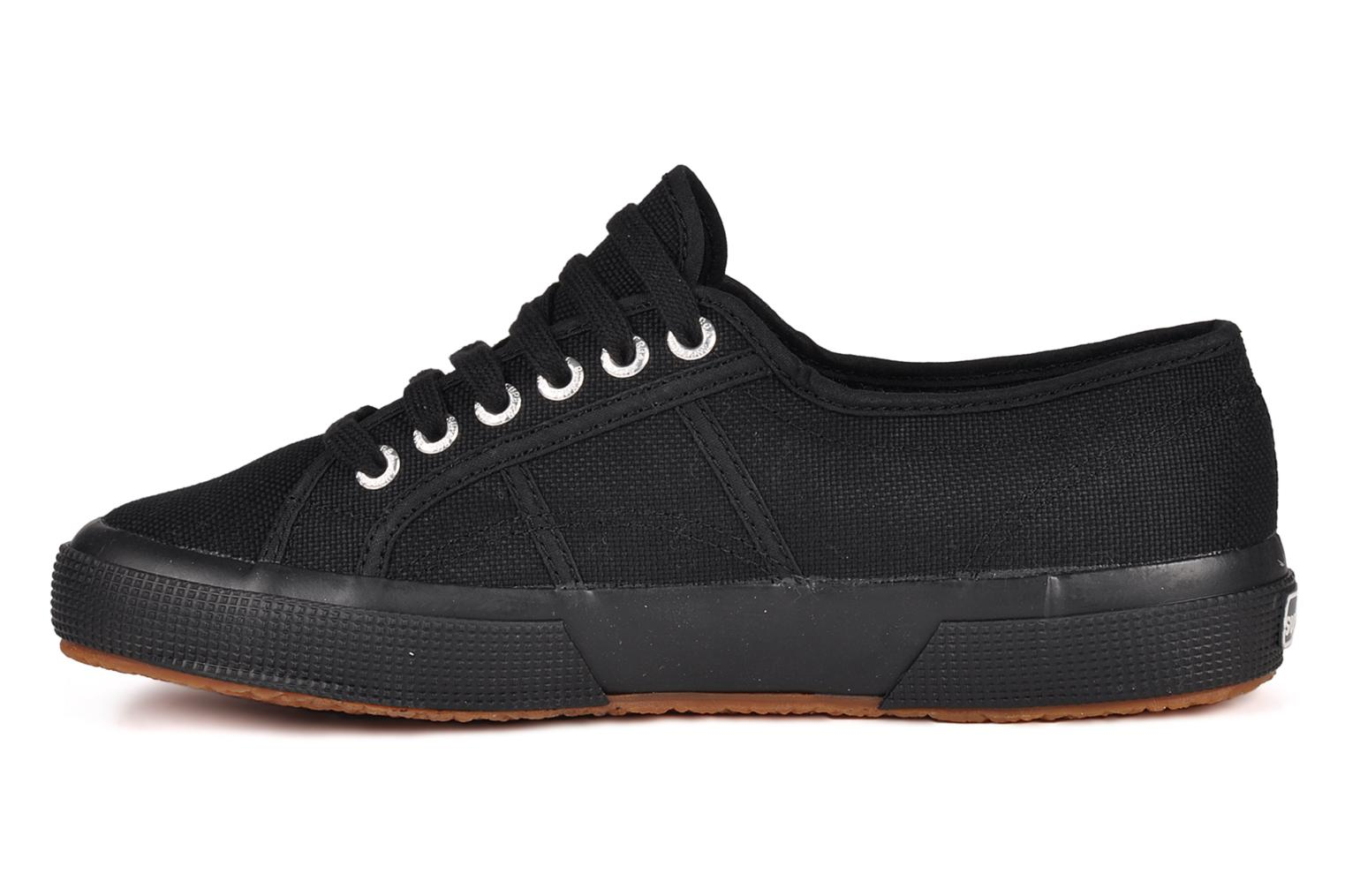 Baskets Superga 2750 Cotu M Noir vue face