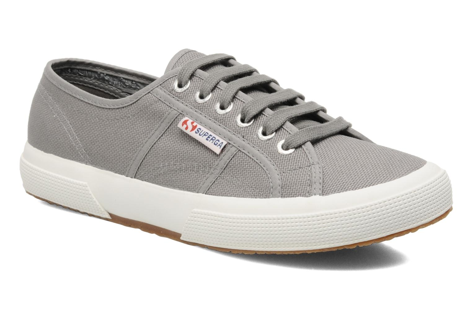 Trainers Superga 2750 Cotu M Grey detailed view/ Pair view