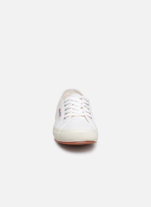 Sneaker Superga 2750 Cotu W weiß schuhe getragen
