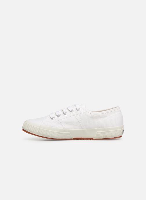 Sneaker Superga 2750 Cotu W weiß ansicht von vorne