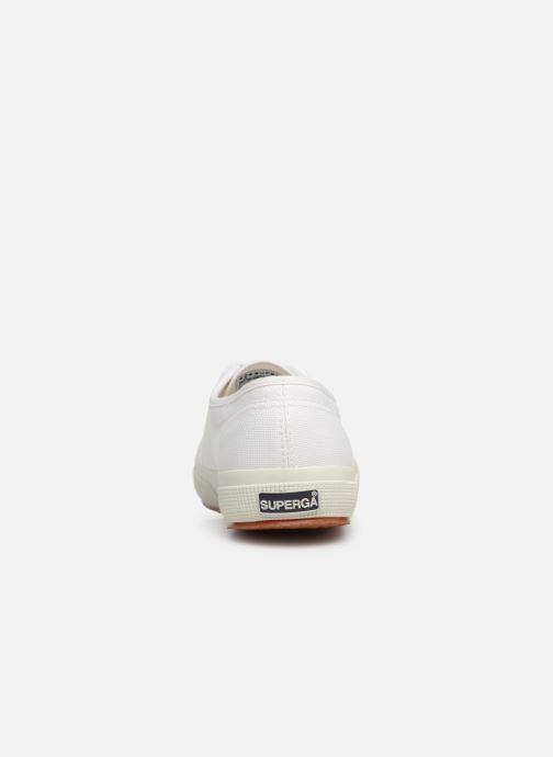 Sneaker Superga 2750 Cotu W weiß ansicht von rechts