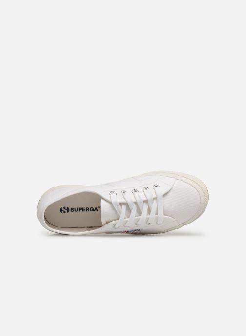 Sneaker Superga 2750 Cotu W weiß ansicht von links