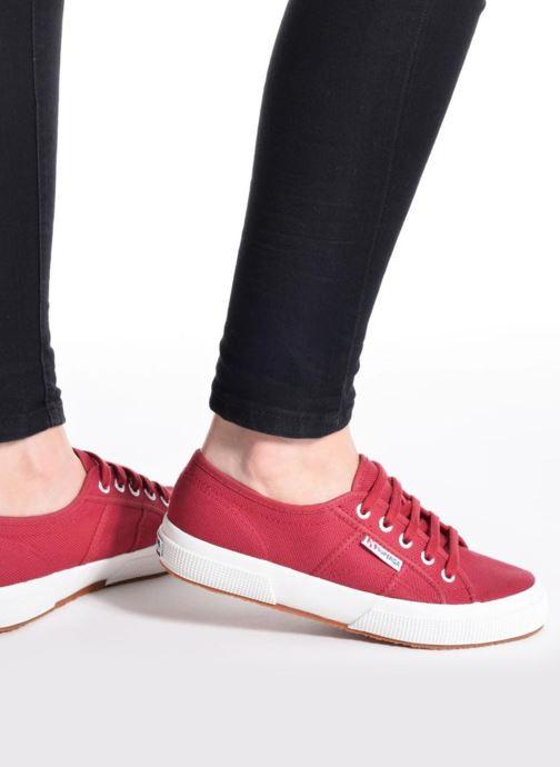 Sneakers Superga 2750 Cotu W Beige immagine dal basso