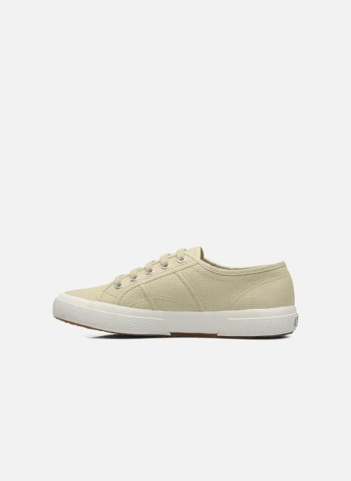 Trainers Superga 2750 Cotu W Beige front view