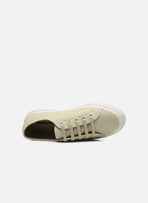 Sneakers Superga 2750 Cotu W Beige immagine sinistra