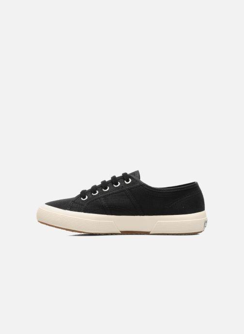 Sneaker Superga 2750 Cotu W schwarz ansicht von vorne
