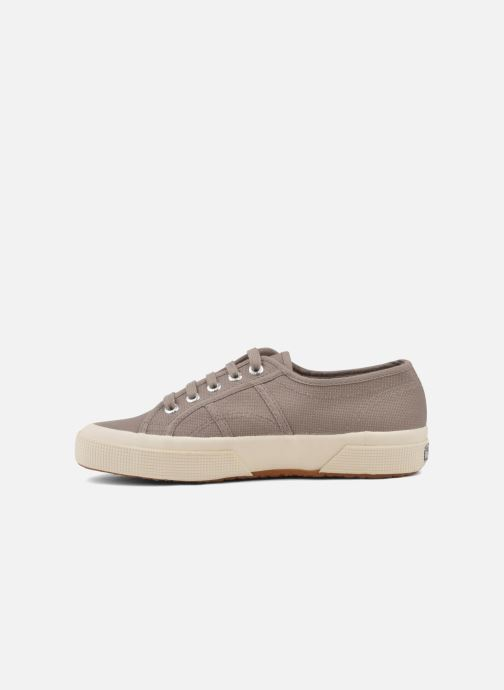 Sneakers Superga 2750 Cotu W Marrone immagine frontale