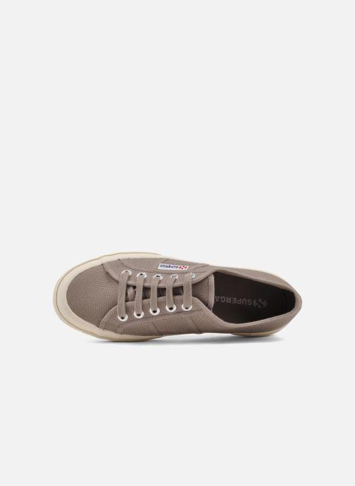 Sneakers Superga 2750 Cotu W Marrone immagine sinistra