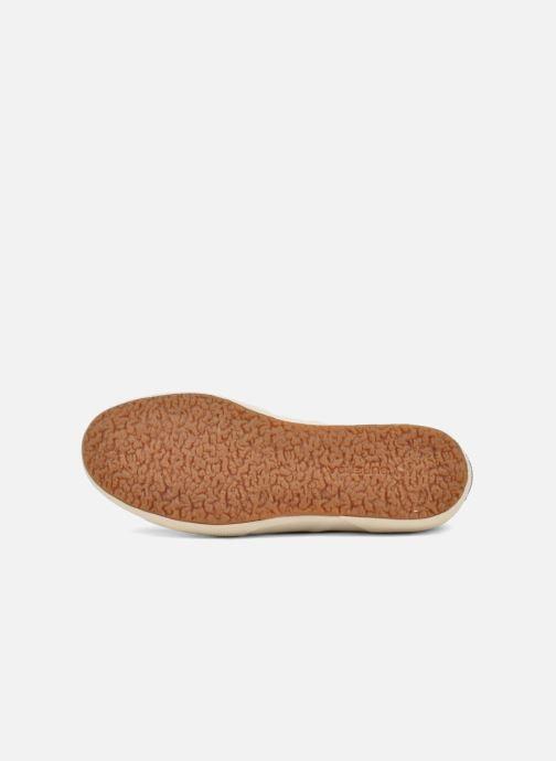 Sneakers Superga 2750 Cotu W Marrone immagine dall'alto