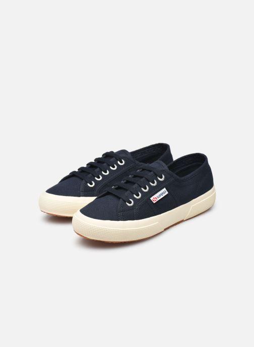 Sneaker Superga 2750 Cotu W blau ansicht von unten / tasche getragen