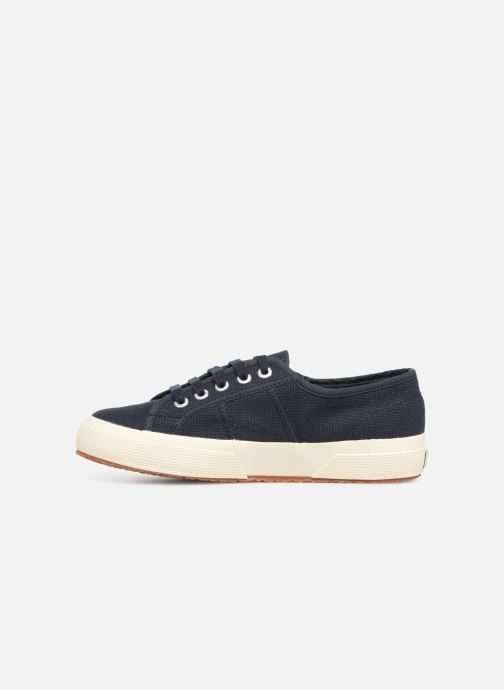 Sneakers Superga 2750 Cotu W Blauw voorkant