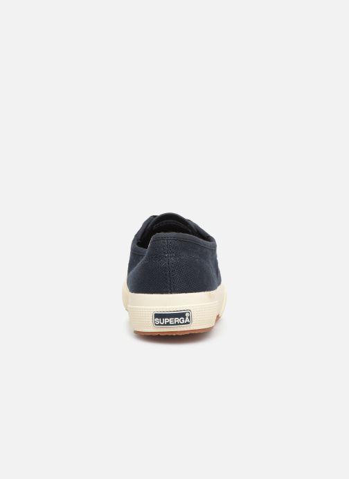 Sneaker Superga 2750 Cotu W blau ansicht von rechts