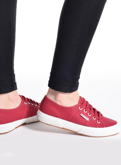 Sneakers Superga 2750 Cotu W Arancione immagine dal basso