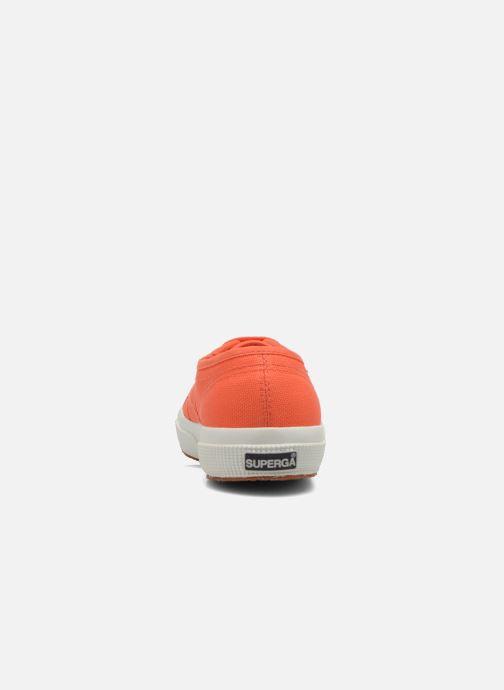 Baskets Superga 2750 Cotu W Orange vue droite