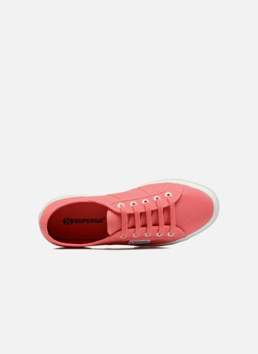 Baskets Superga 2750 Cotu W Rose vue gauche