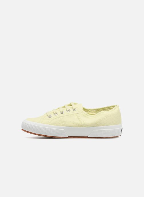 Baskets Superga 2750 Cotu W Jaune vue face