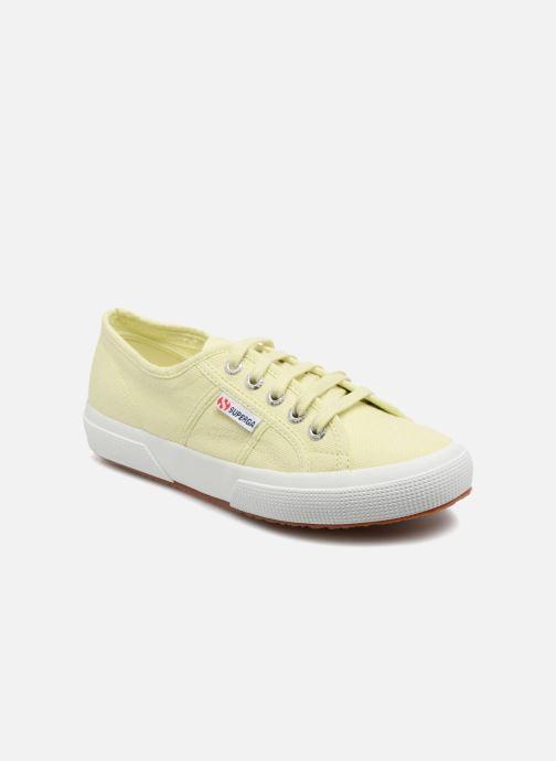 ef15bc32 Sneakers Superga 2750 Cotu W Gul detaljeret billede af skoene
