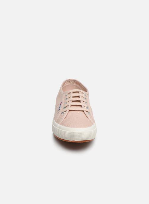 Sneaker Superga 2750 Cotu W rosa schuhe getragen