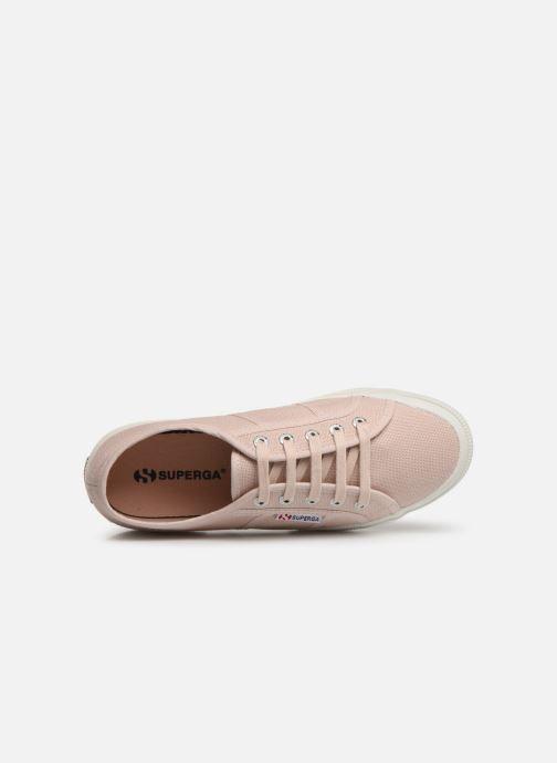 Sneaker Superga 2750 Cotu W rosa ansicht von links