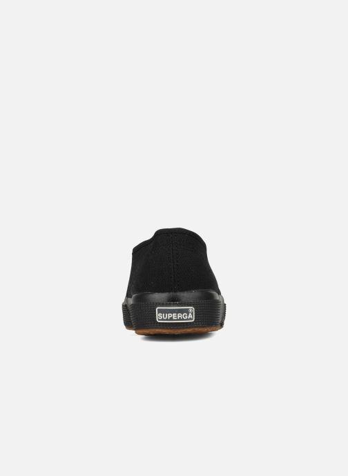 Sneaker Superga 2750 Cotu W schwarz ansicht von rechts
