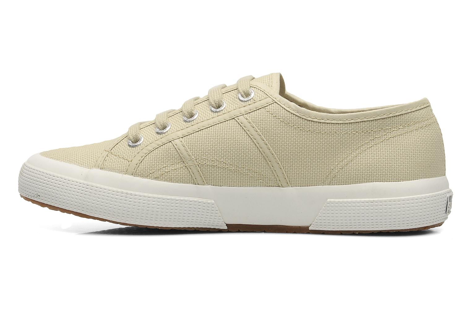 Baskets Superga 2750 Cotu W Beige vue face