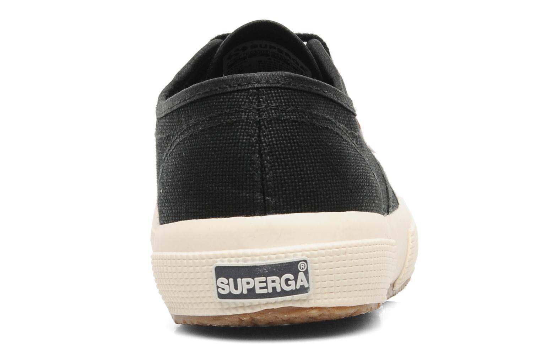 Baskets Superga 2750 Cotu W Noir vue droite