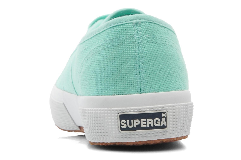 Sneakers Superga 2750 Cotu W Verde immagine destra