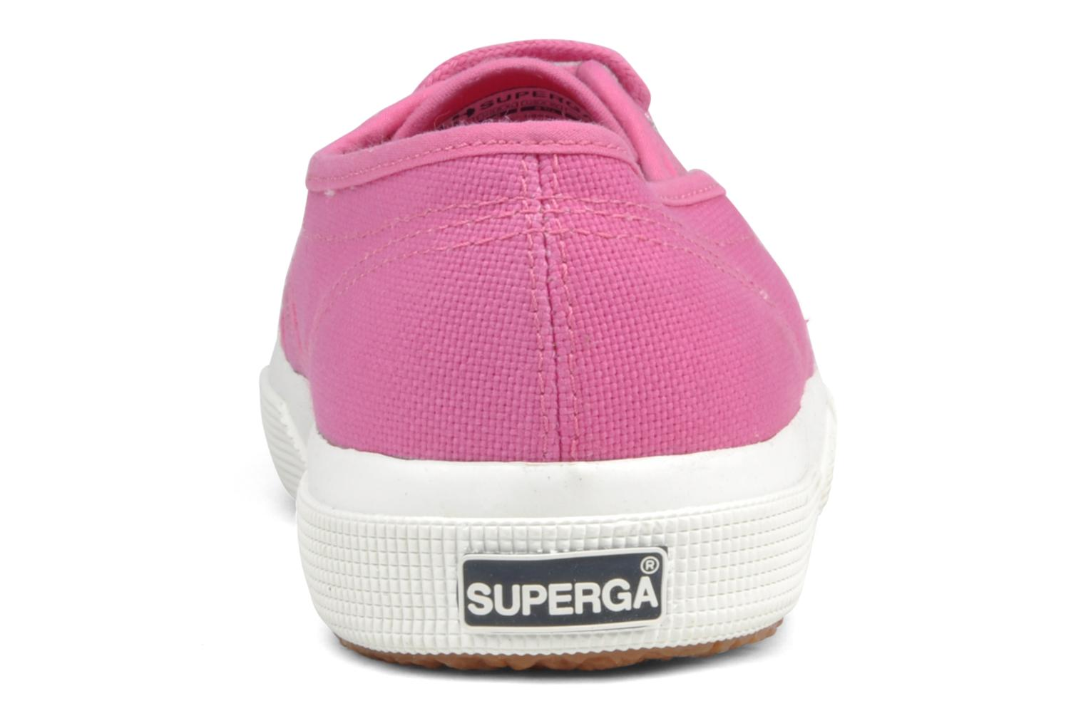 Trainers Superga 2750 Cotu W Pink view from the right