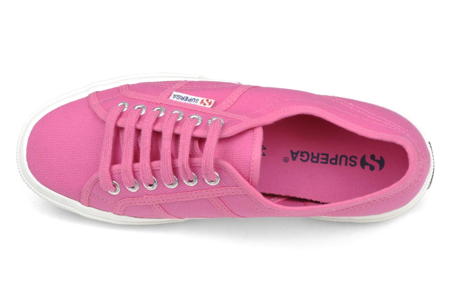 Trainers Superga 2750 Cotu W Pink view from the left