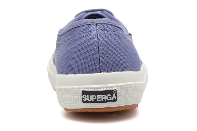 Baskets Superga 2750 Cotu W Violet vue droite