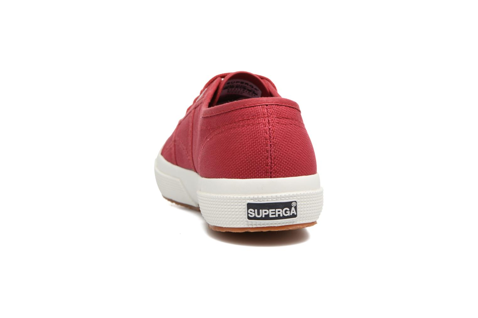 Trainers Superga 2750 Cotu W Red view from the right