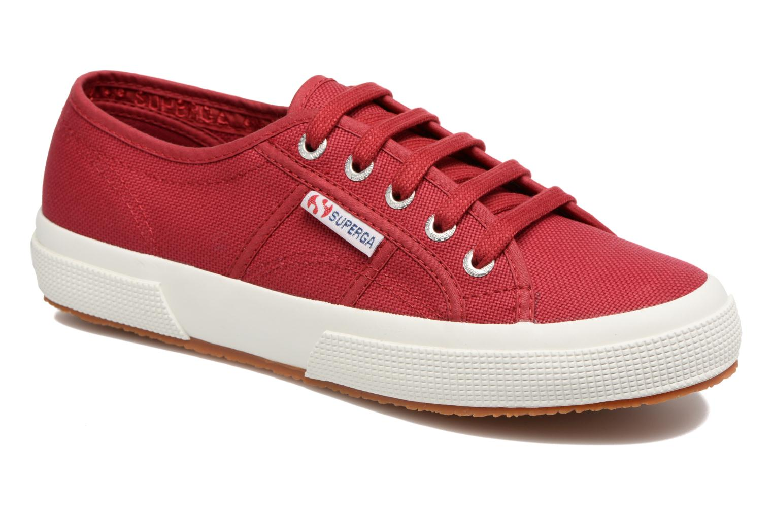 Trainers Superga 2750 Cotu W Red detailed view/ Pair view
