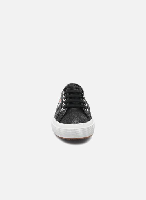 Sneaker Superga 2750 Lame W schwarz schuhe getragen