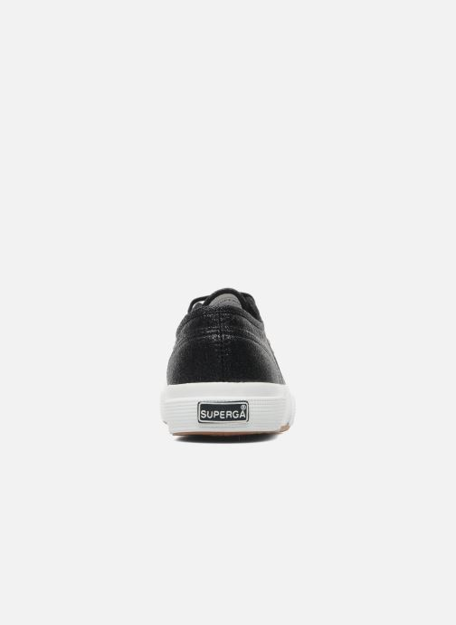 Trainers Superga 2750 Lame W Black view from the right