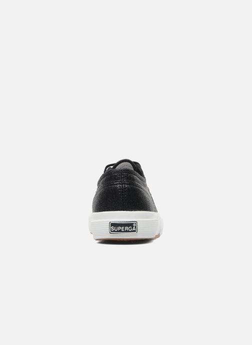 Sneaker Superga 2750 Lame W schwarz ansicht von rechts