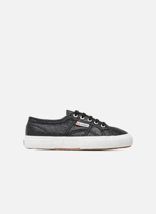 Sneaker Superga 2750 Lame W schwarz ansicht von hinten