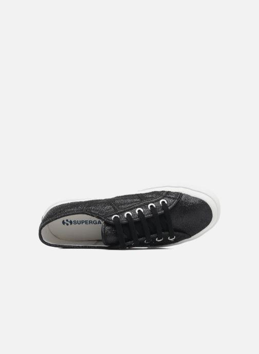 Sneaker Superga 2750 Lame W schwarz ansicht von links