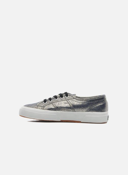 Baskets Superga 2750 Lame W Gris vue face