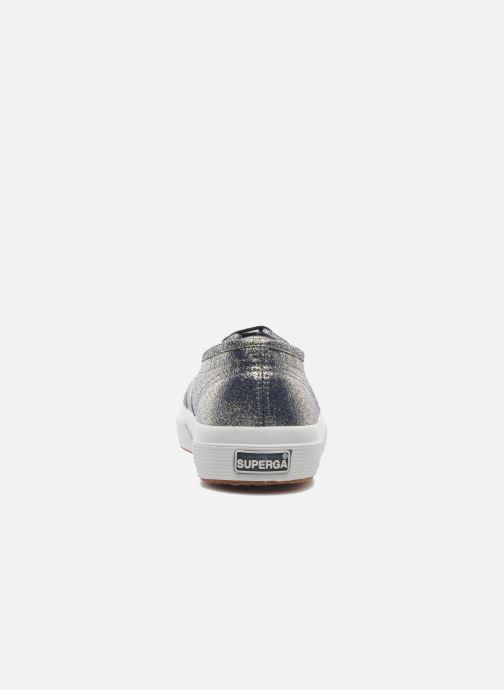 Sneaker Superga 2750 Lame W grau ansicht von rechts