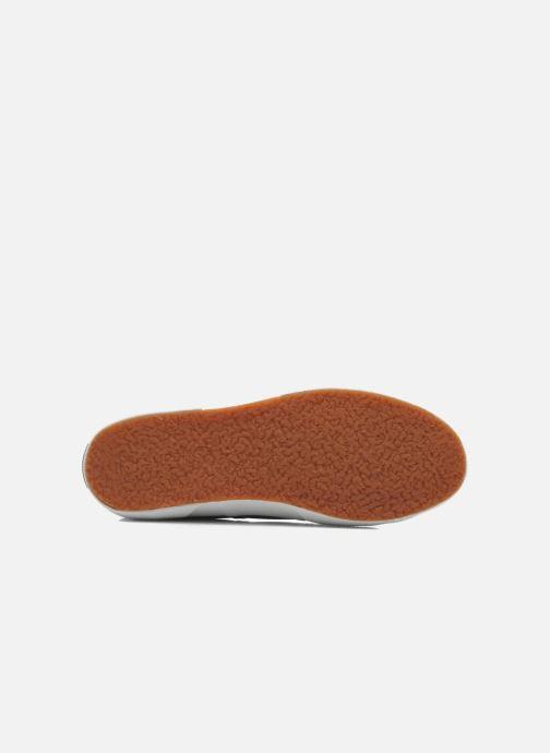 Sneaker Superga 2750 Lame W grau ansicht von oben