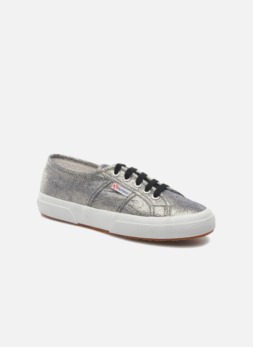 Baskets Superga 2750 Lame W Gris vue détail/paire