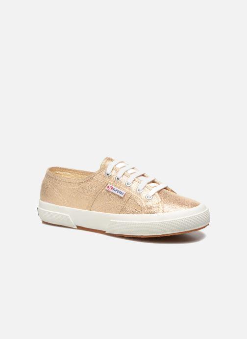 Sneaker Superga 2750 Lame W gold/bronze detaillierte ansicht/modell