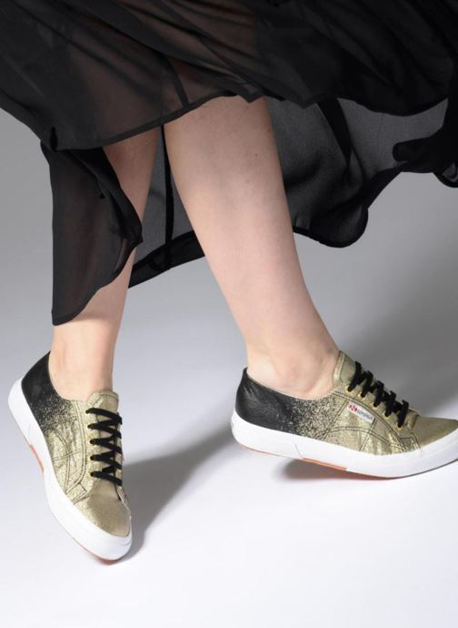 Sneakers Superga 2750 Lame W Zwart onder
