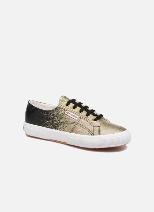 separation shoes e01fe 67367 Baskets Superga 2750 Lame W Noir vue détail paire