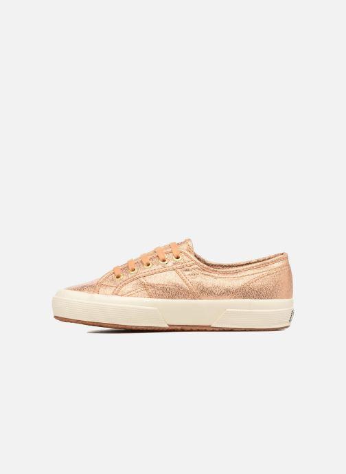 Sneakers Superga 2750 Lame W Goud en brons voorkant