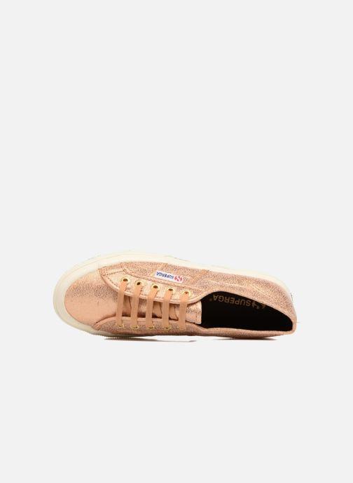 Sneakers Superga 2750 Lame W Goud en brons links