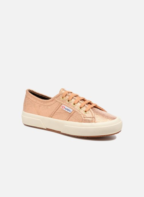 Baskets Superga 2750 Lame W Or et bronze vue détail/paire