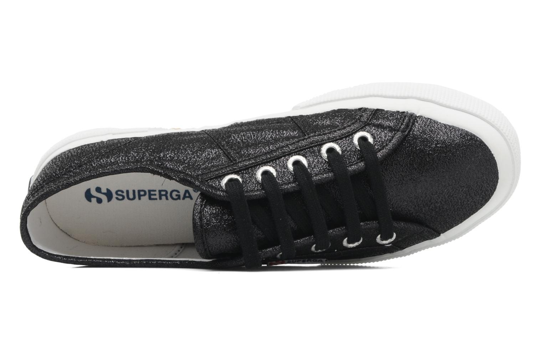 Sneakers Superga 2750 Lame W Nero immagine sinistra