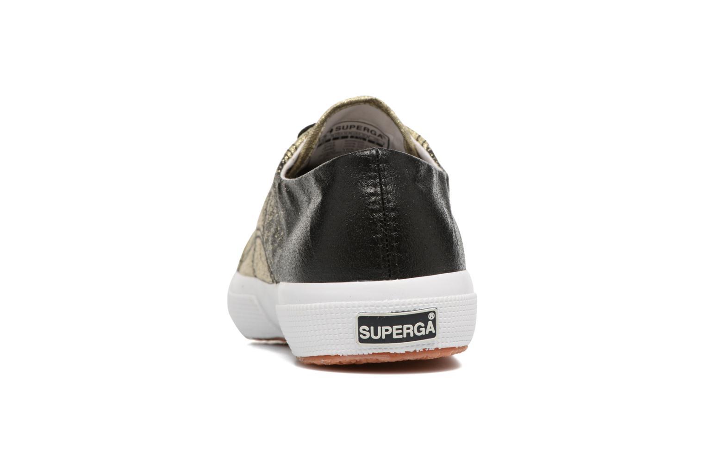 Sneakers Superga 2750 Lame W Svart Bild från höger sidan