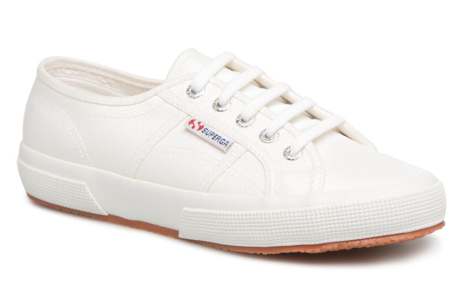Superga 2750 Lame W (Blanc) - Baskets en Más cómodo Chaussures casual sauvages